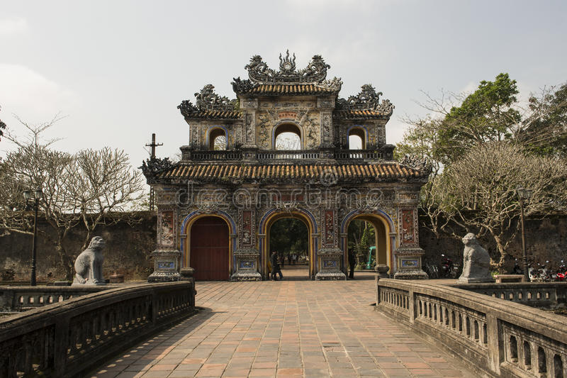 Download Gateway In The Forbidden Purple City In Hue, Vietnam. Stock Image - Image: 65512891