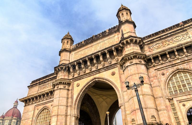 The Gateway of India in Mumbai. The state of Maharashtra stock images