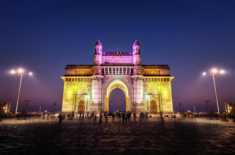 Gateway Of India Mumbai Mumbai stock photography