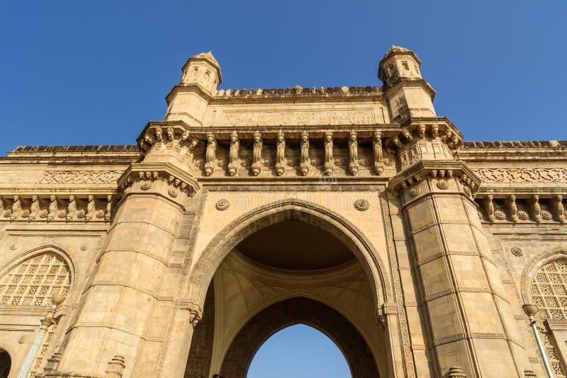 Gateway of India in Mumbai India royalty-vrije stock afbeelding