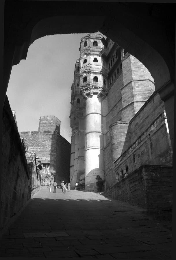 Gateway a la fortaleza foto de archivo