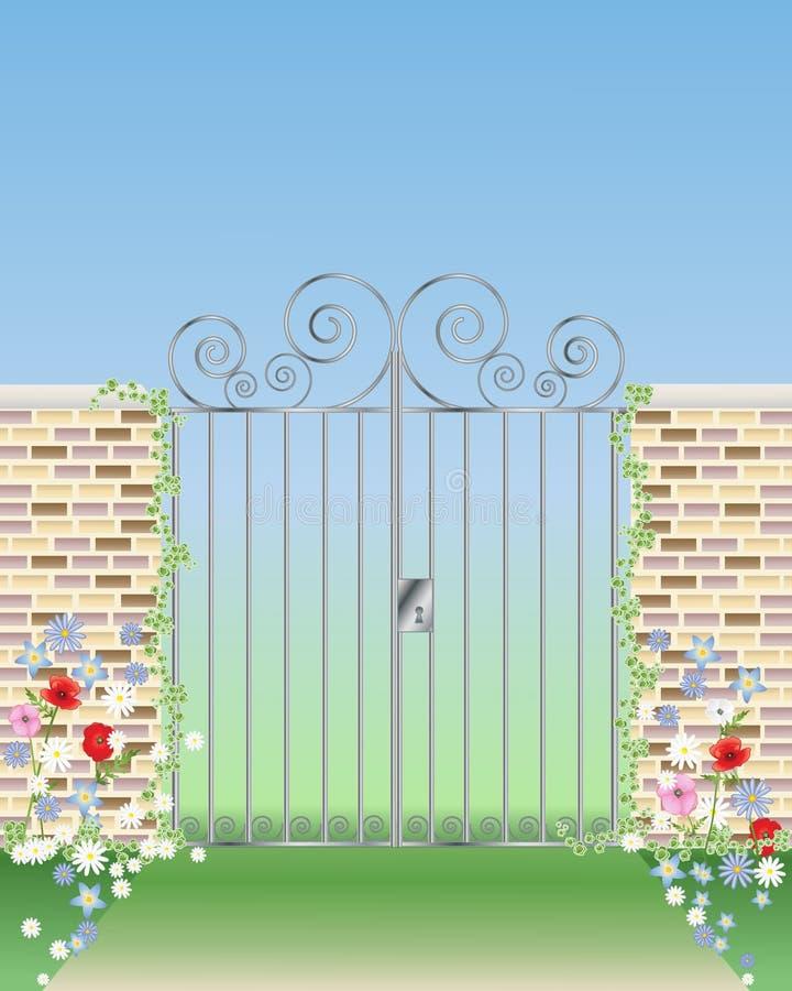 Gateway ornemental illustration libre de droits