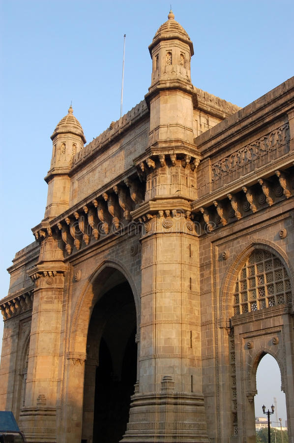 Gateway to India, Mumbai stock image