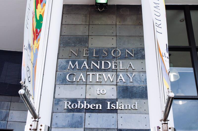 gateway to robben island royalty free stock photos