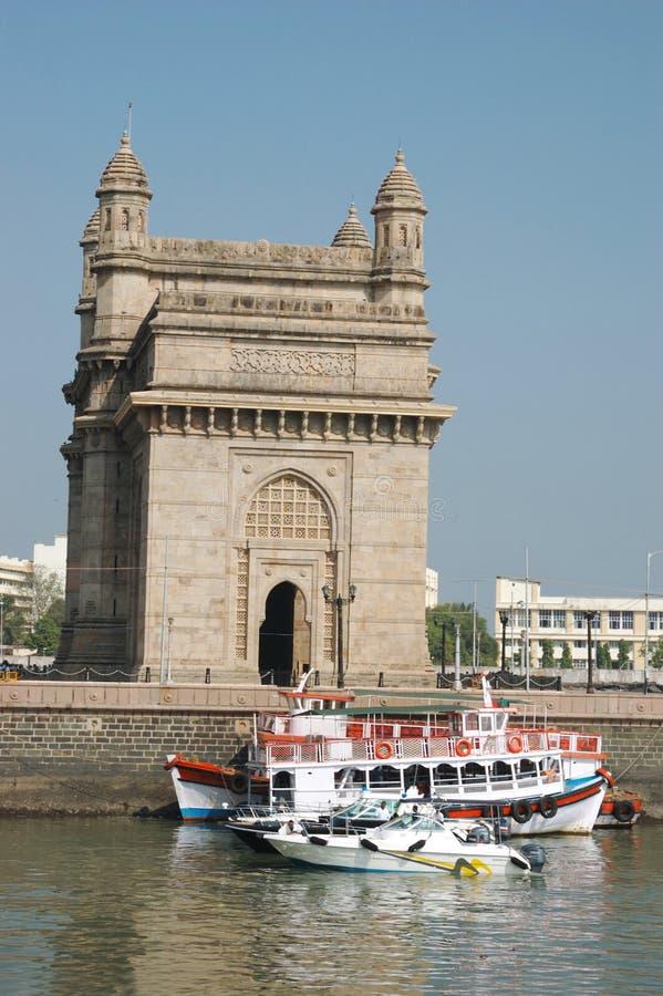 Gateway van India, Bombay (Mumbai) royalty-vrije stock afbeeldingen