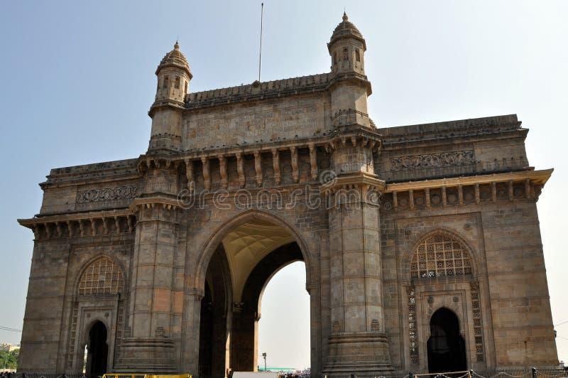 Gateway van India in Mumbai. royalty-vrije stock afbeeldingen