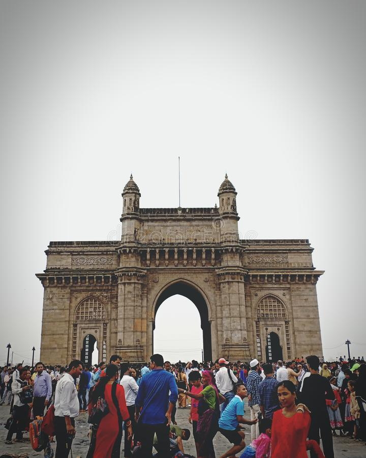 Gateway van India, Mumbai stock foto