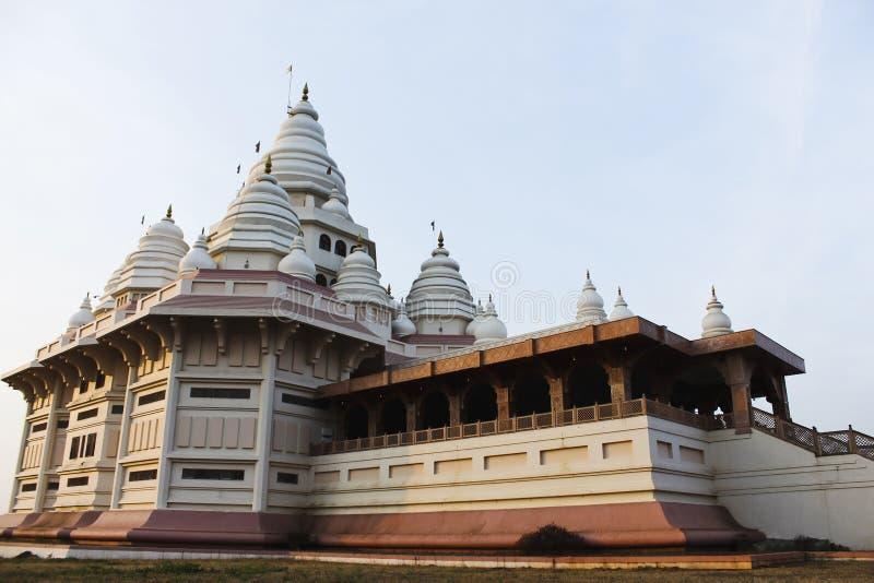 Gatha Mandir, domicílio de Sant Tukaram honrou Saint do poeta, Dehu, Maharashtra, Índia fotografia de stock royalty free
