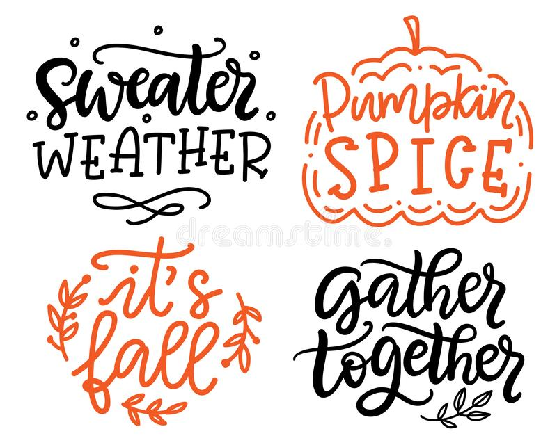 Gather Together, Pumpkin Spice, Sweater Weather, It`s Fall ...
