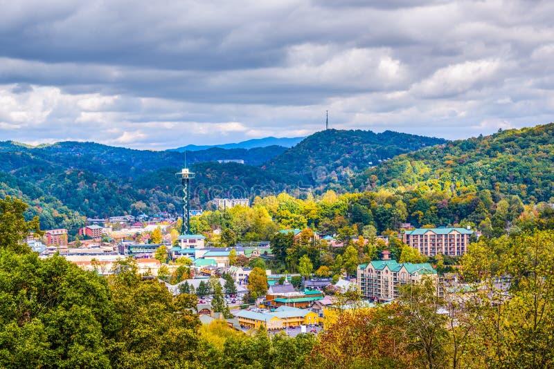 Gatlinburg,田纳西,美国 免版税库存照片