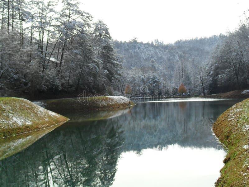 Download Gatlinburg in December stock image. Image of hills, water - 39273157