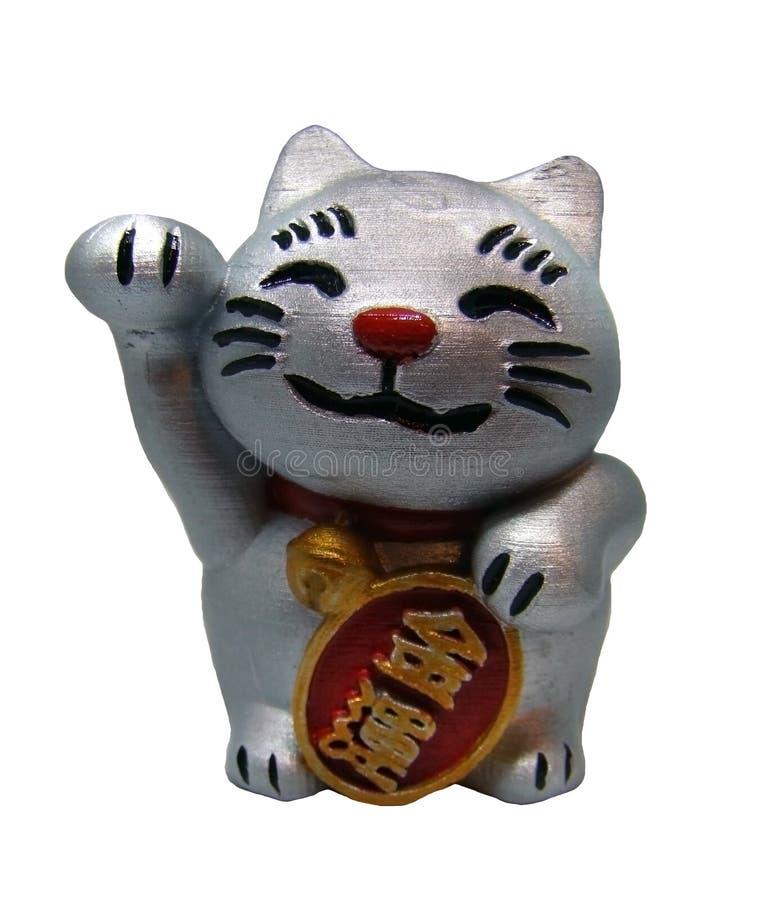 Gato afortunado japonés imágenes de archivo libres de regalías