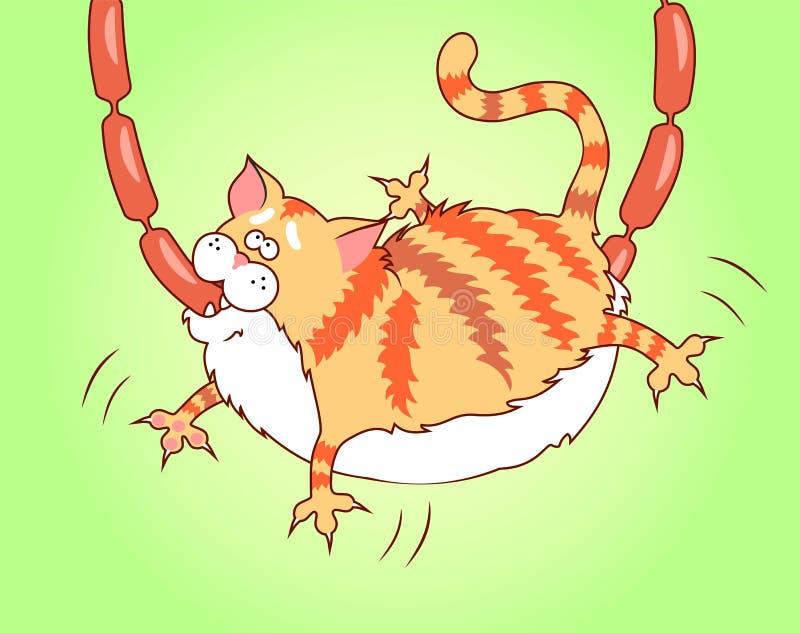 Gato codicioso libre illustration