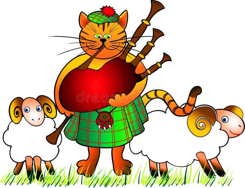 Gato-gaitero libre illustration