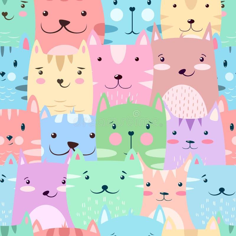 Gato, gatito - lindo, modelo divertido libre illustration