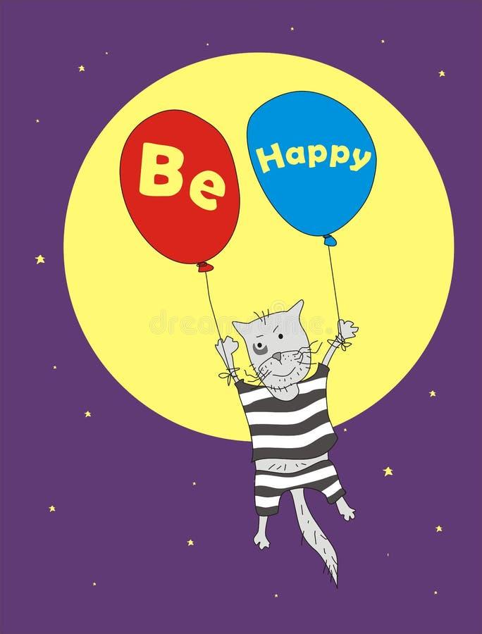 Download Gato libre ilustración del vector. Ilustración de libertad - 7275528