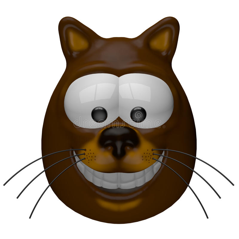 Gato sonriente libre illustration