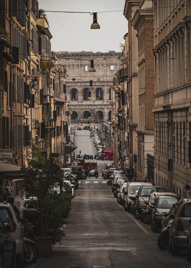 Gator av Rome arkivbilder