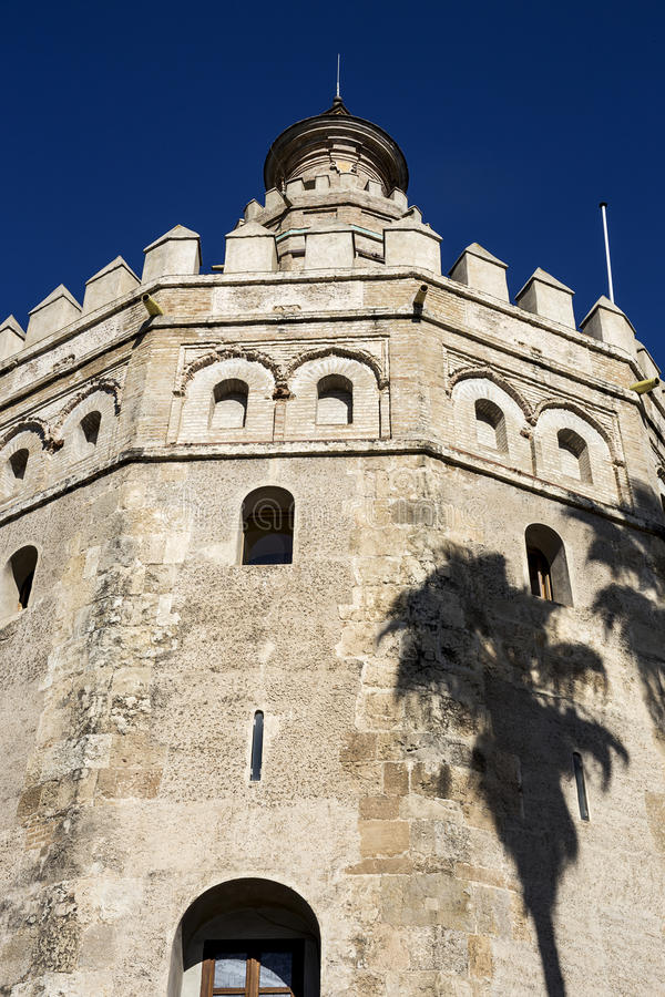 Gator och hörn av Seville _ spain royaltyfria bilder