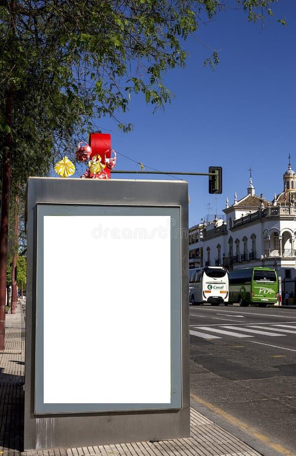 Gator och hörn av Seville _ spain arkivbild