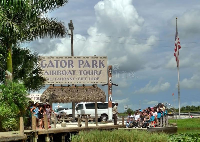 Gator Park Editorial Stock Image