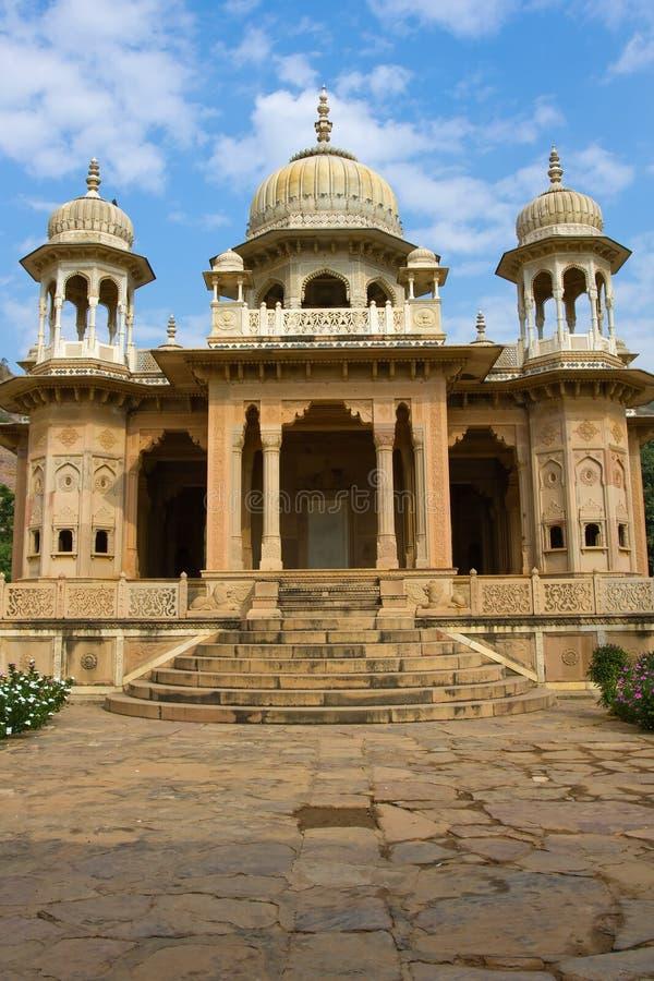 Gatore Ki Chhatriyan, Jaipur, Ràjasthàn, Inde. photos stock