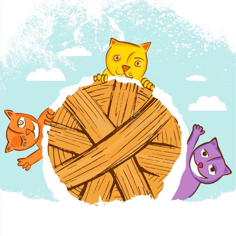 Gatos lindos libre illustration
