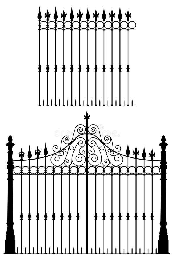 Gatter und Zaun