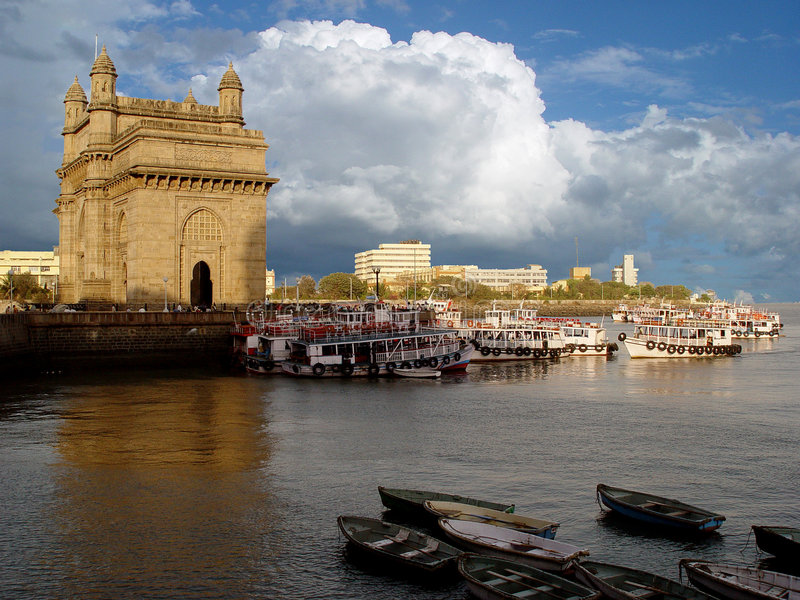 Gatter von Indien Mumbai (Bombay) stockfoto