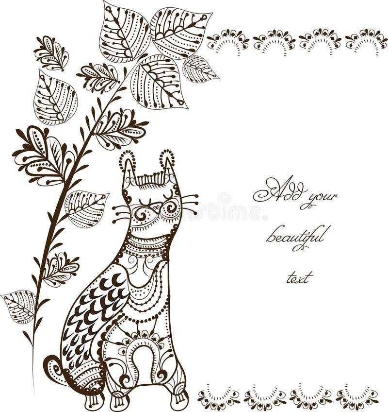 Gatto royalty illustrazione gratis