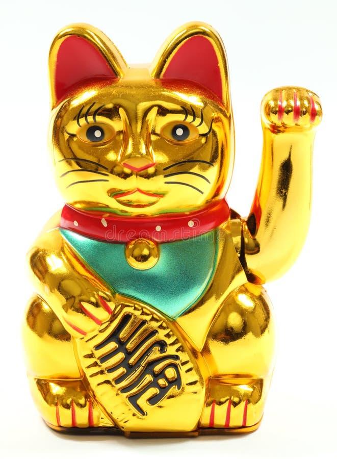 Gatto cinese fortunato fotografia stock