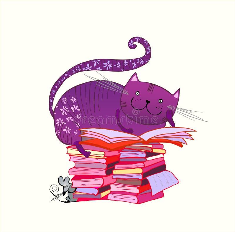Gatto della lettura