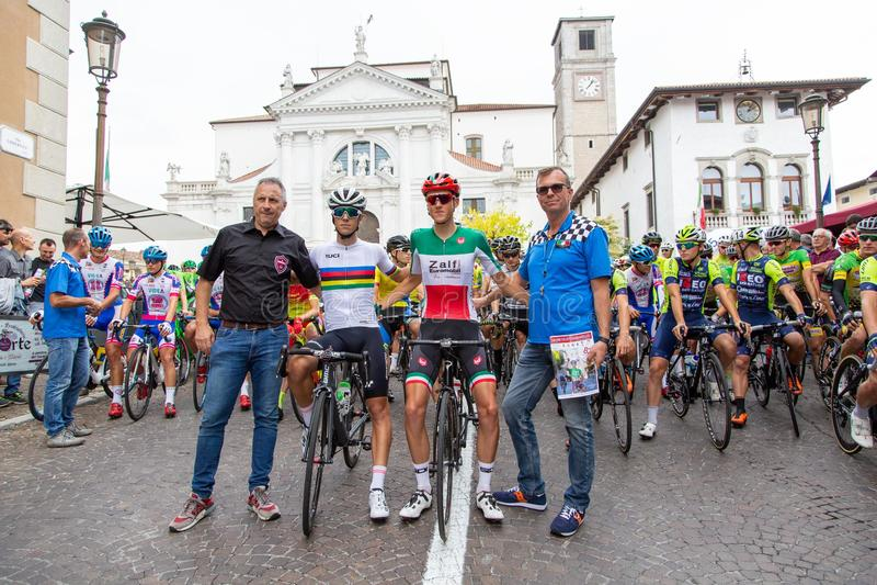 Gatucykling 82° Coppa San Vito - Elite och under 23 royaltyfri fotografi