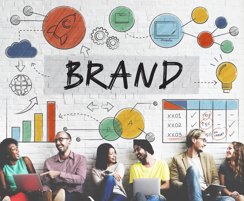 Gatunek Oznakuje Reklamowego znaka firmowego Marketingowy pojęcie zdjęcie royalty free
