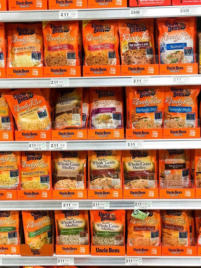 Gatunki Rice obraz stock