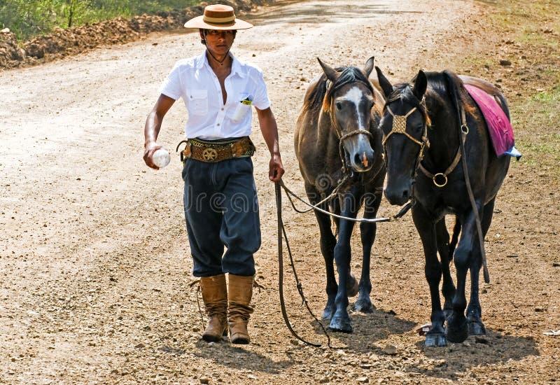 gaucho φεστιβάλ στοκ φωτογραφία με δικαίωμα ελεύθερης χρήσης