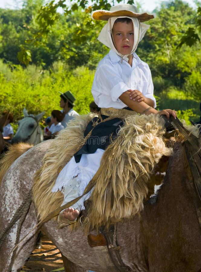 Download Gaucho festival editorial stock image. Image of clothes - 15867639