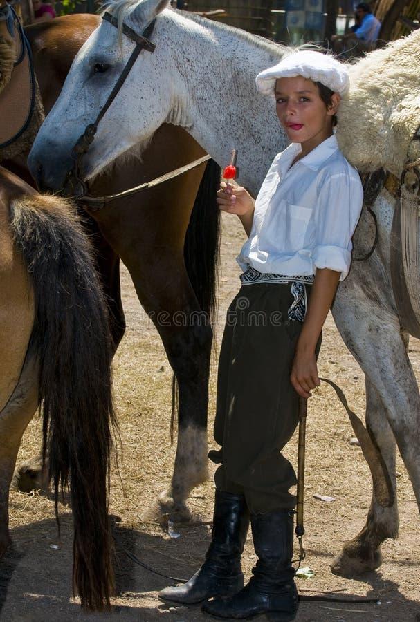 Gaucho festival royalty free stock image