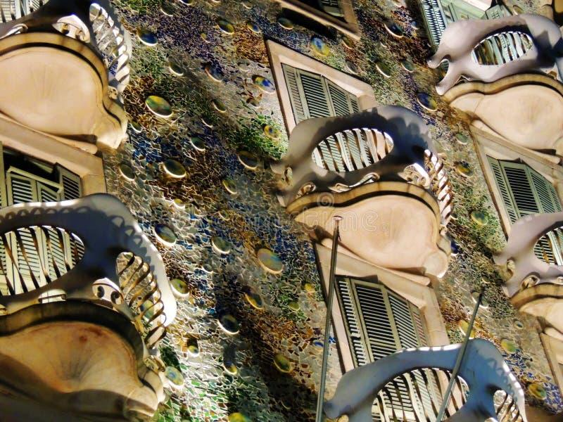Gaudi的颜色 库存图片
