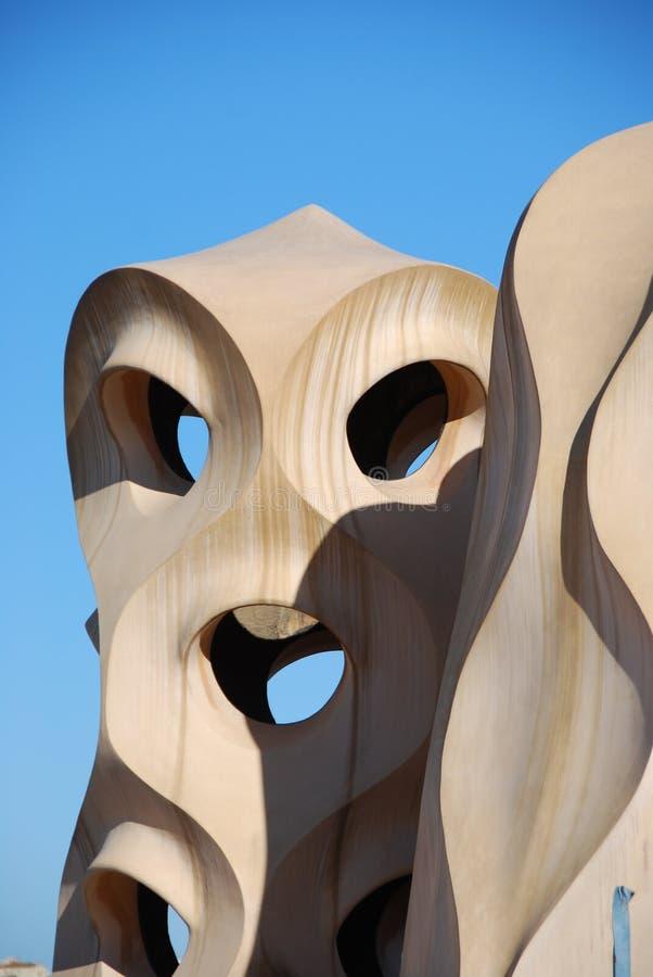 Gaudi arkivfoto
