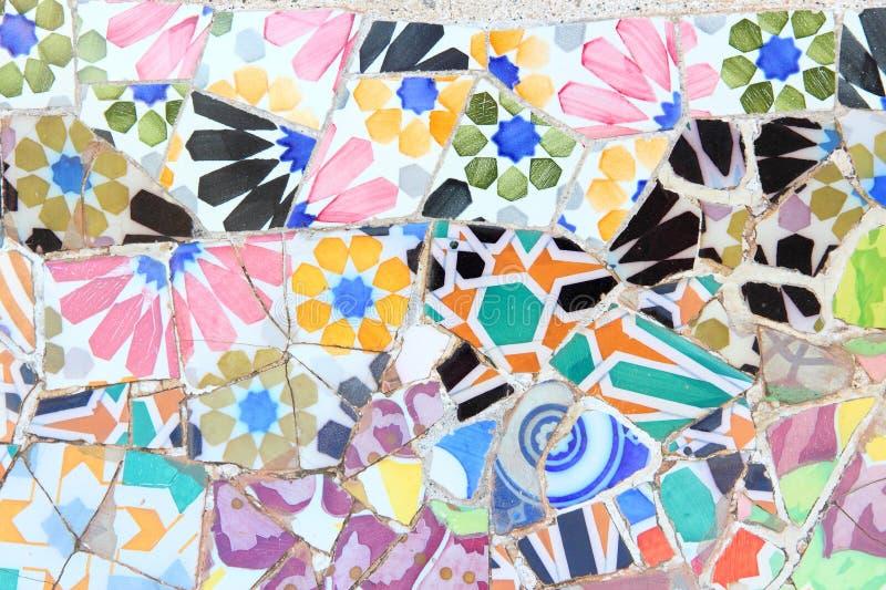 Gaudi art in Barcelona royalty free stock photography