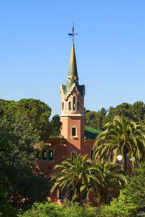 Gaudi domu widok fotografia stock