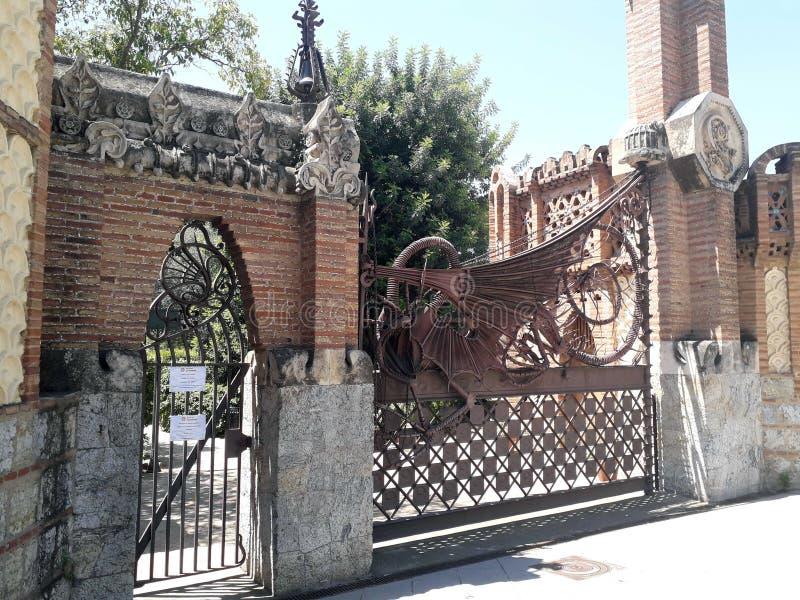 Gaudi Dragon royaltyfri foto