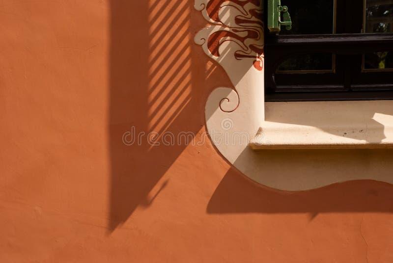 Gaudi-Fenster stockfoto