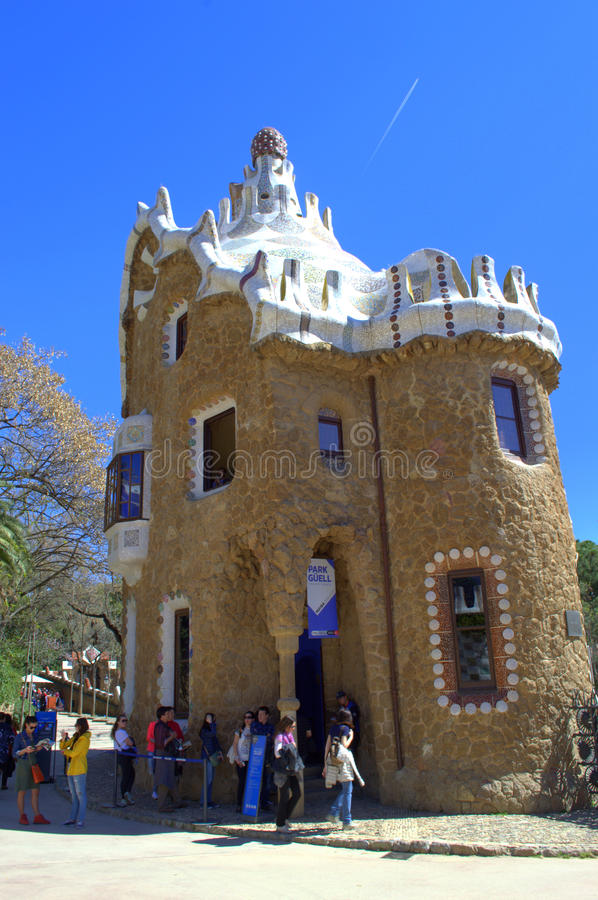 Gaudi Haus Barcelona redaktionelles bild Bild von