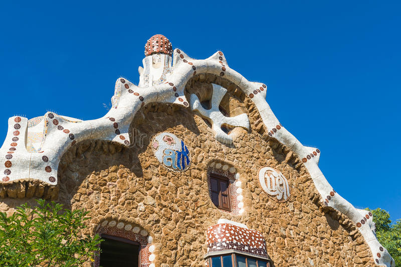 Gaudi hause royalty free stock photography