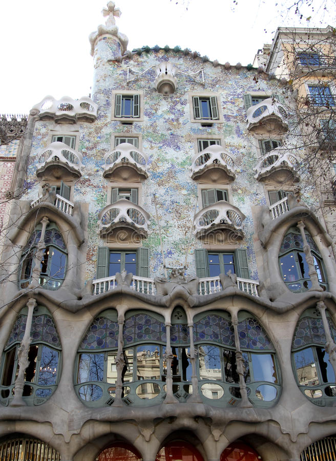 Download Gaudi House stock image. Image of city, landmark, buiding - 24235353