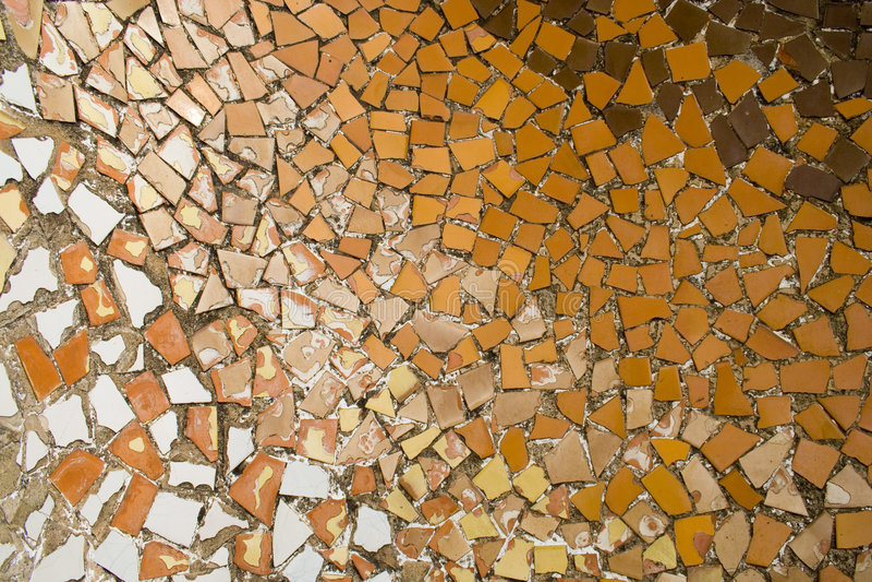 Gaudi Mosaik lizenzfreie stockfotos