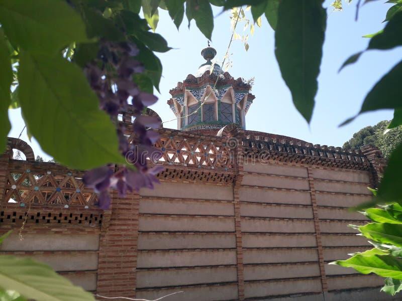 Gaudi Pavilion arkivfoto