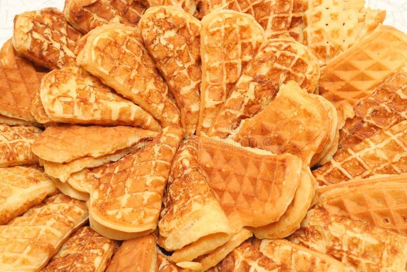 Download Gaufres image stock. Image du plaine, closeup, restaurant - 726845